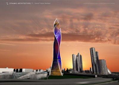 Rotating Skyscraper Dubai
