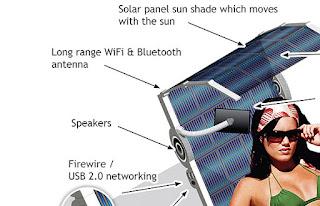 Solar-Powered Tech Chair