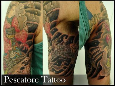 oriental, indu , samurai tattoo by pescatore