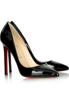 d8e600c672ec1 Christian Louboutin patent pumps at net-a-porter.com.