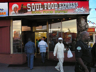 The Original 99 Cent Chef Is Marilyn Of Soul Food Express This First Discovered Her Cents Up Take Out One Weekend Driving Down