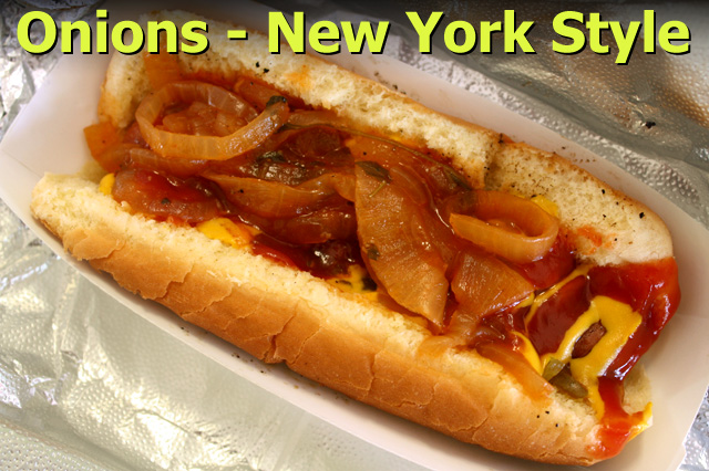What Are New York Hot Dog Onions