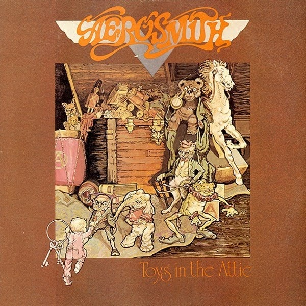 Vinyl Lp Label Scans Aerosmith Toys In The Attic