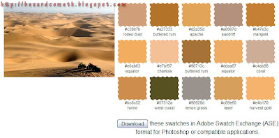Desert Color Scheme