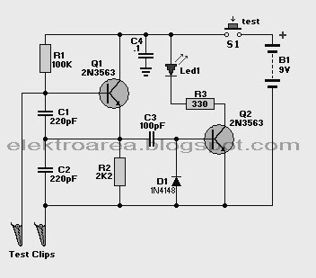 Skema Elektronika: Kristal Tester