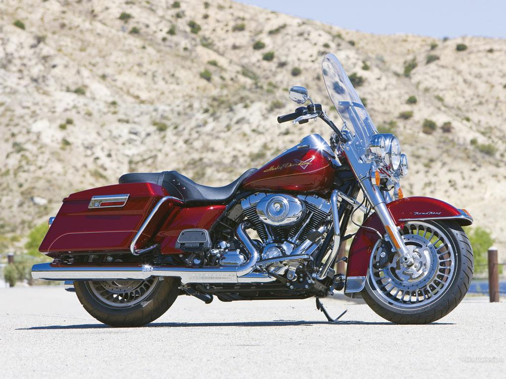 Harley Davidson FLHR Road King Modifikasi Dan Spesifikasi Motor