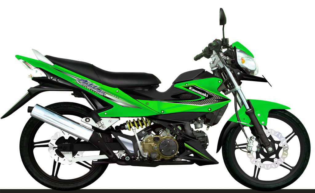 Spesifkasi Kawasaki Athlete 125 Modifikasi Dan
