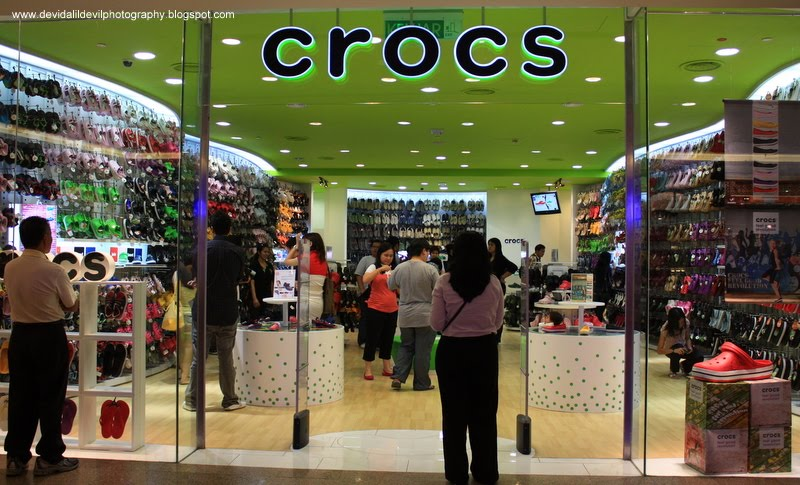 a8e6a78a494adf Devi da Lil  DeviL~  Biggest Crocs Concept Store has hatched