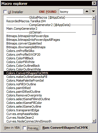 wOxxOm's CorelDRAW macros: 2007