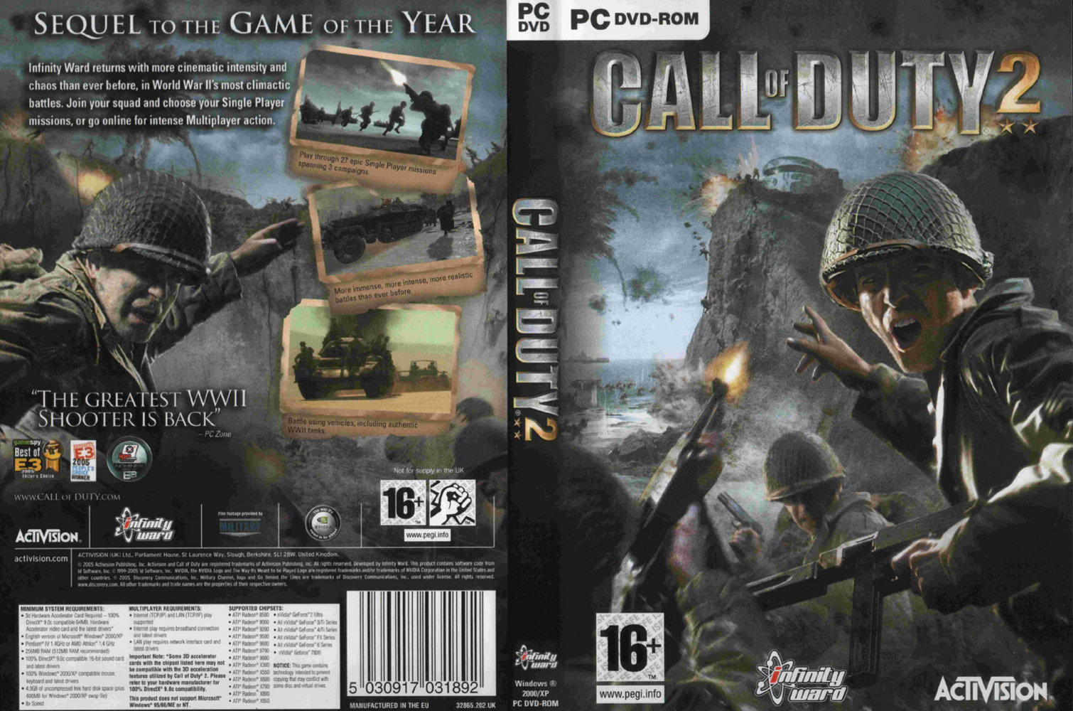 Call Of Duty 2 - PC Game