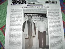 Articulo de un Diario Local