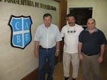 Visita a la Confederacion Argentina de Basquet