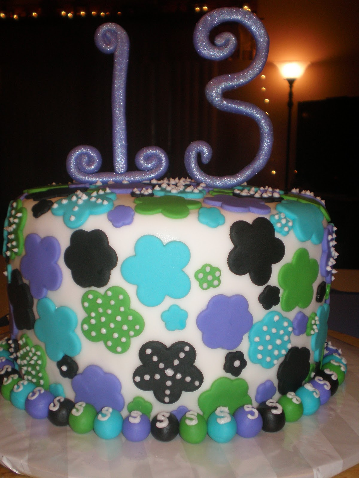 Creative Cakes By Moriah Skittles 13th Birthday Cake