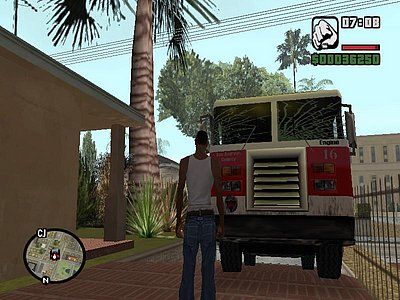 Misi gta sa fire fighter pemadam kebakaran
