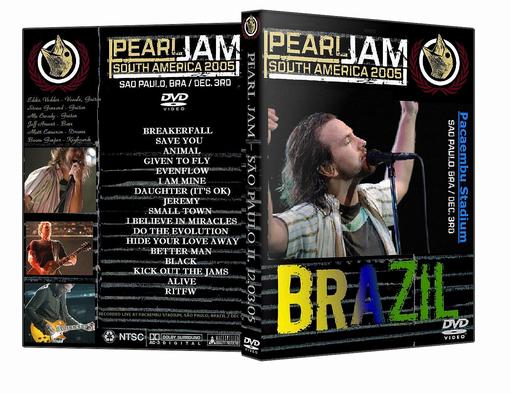 Skull Bootlegs Pearl Jam Live In S 227 O Paulo 2005