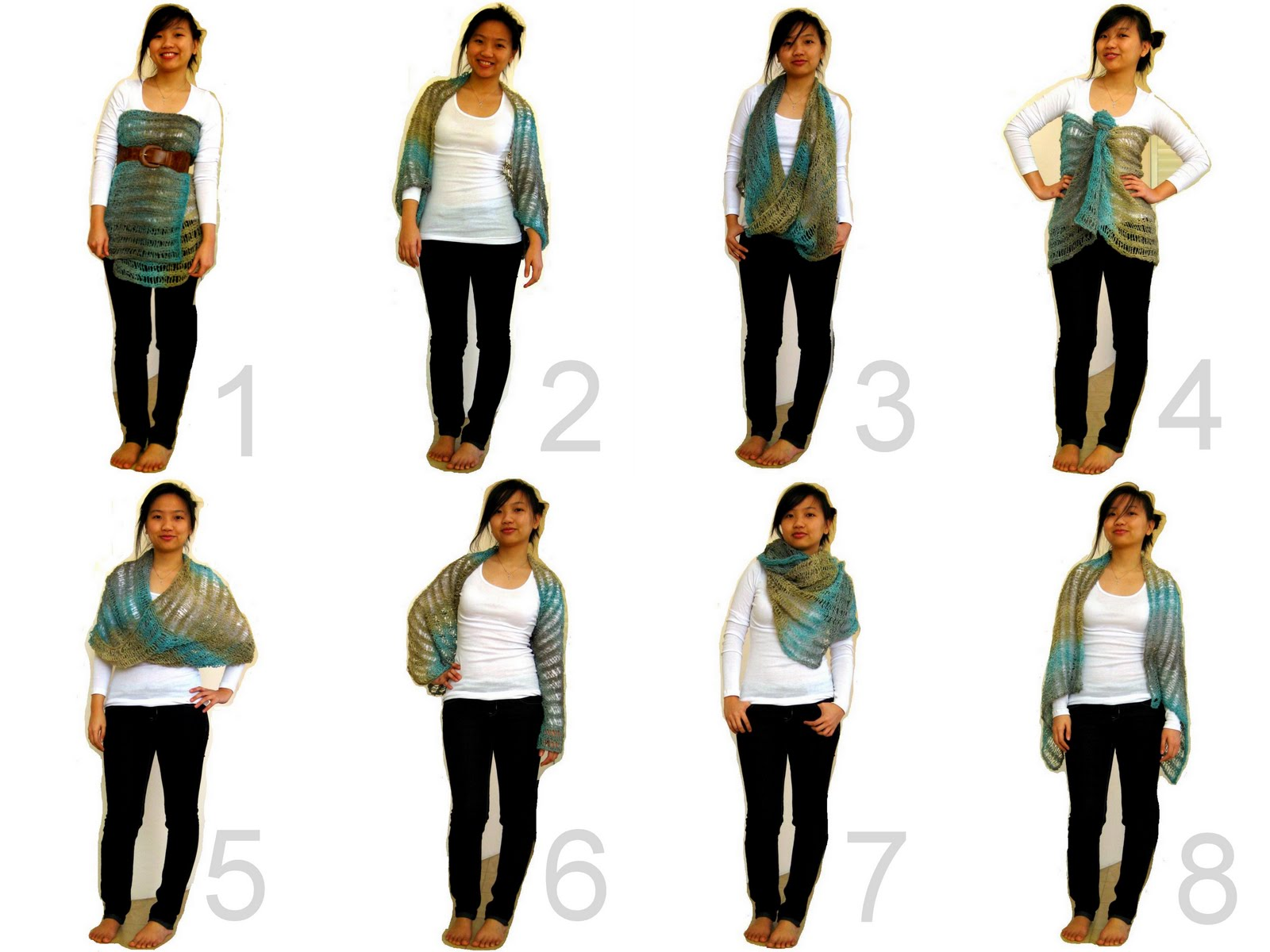 because she started knitting: 8 ways to wear your ...