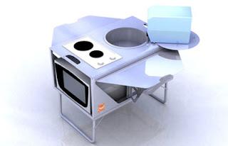 Taşınabilir kolay mutfak      serdarkalkan.com