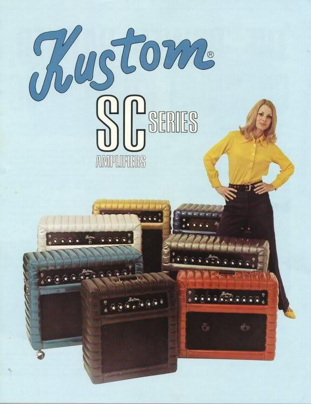 The Unique Guitar Blog Kustom Amplifiers and Kustom Guitars