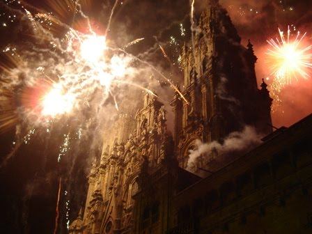 Quema de la catedral de Santiago de Compostela.