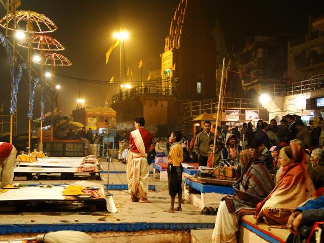 Aarti en Varanasi  - Ceremonias en Varanasi