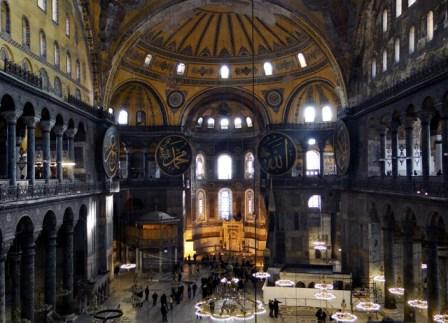 Como llegar y precios de entrada de Santa Sofia, Estambul