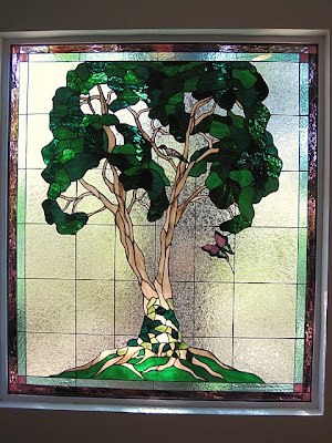 Bonsai Tree Stained Glass Pattern Patterns Gallery