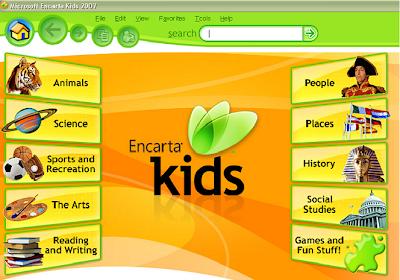 encarta kids 2008