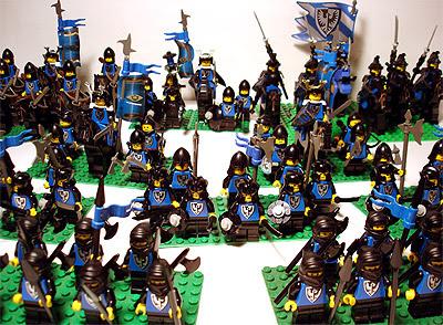 Eine Brikwars-Armee