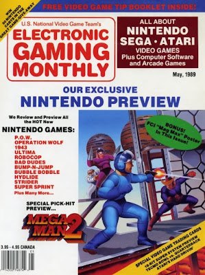 Electronic Gaming Monthly EGM issue 1 cover