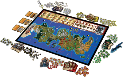 The Game Of Thrones Board Game