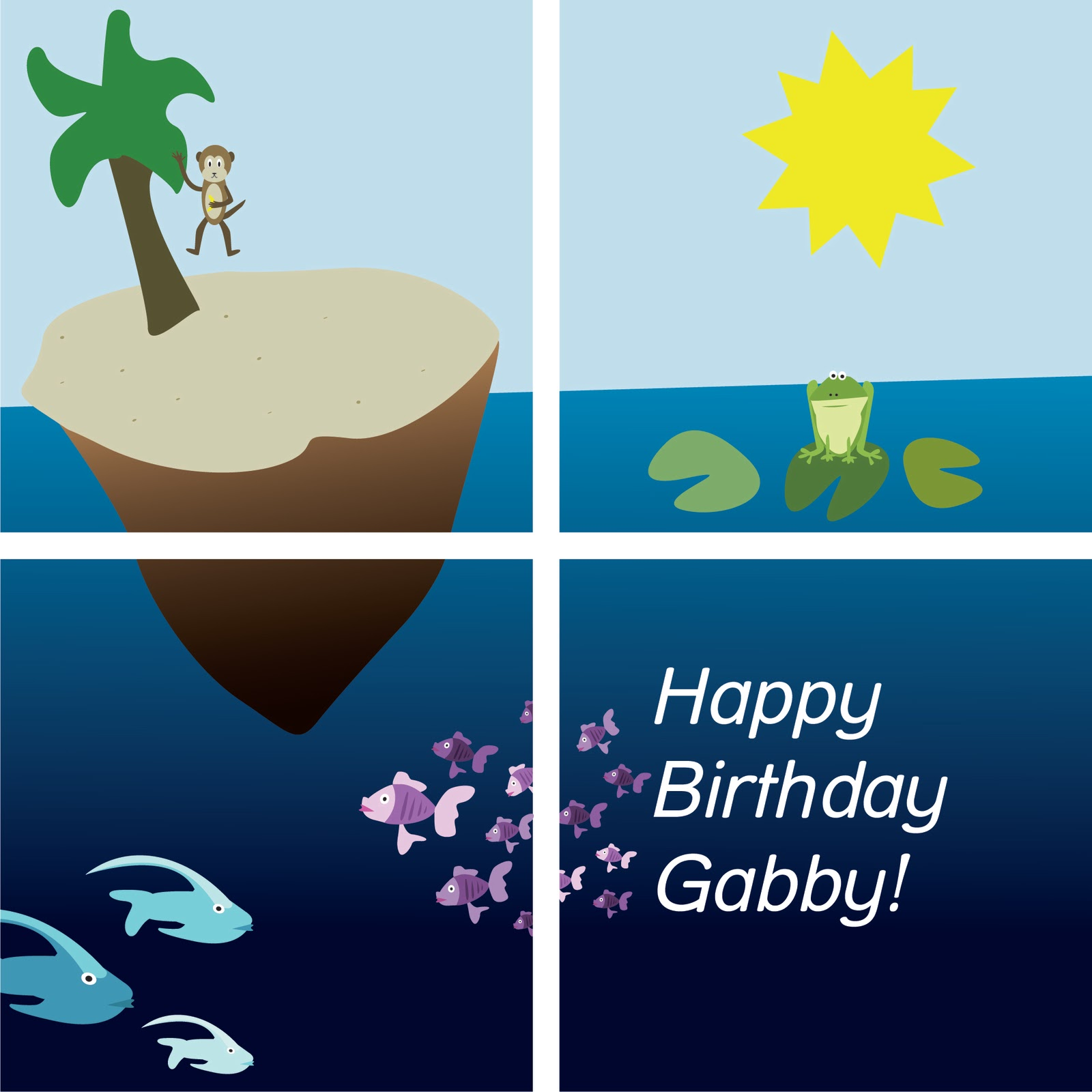 Designs With A Delicate Touch.: Happy Birthday Gabby
