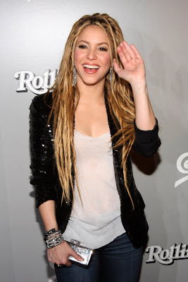 Shakira At Her Rolling Stone's Magazine Cover Launch Party Photos