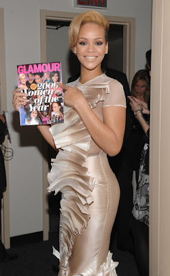 Rihanna Glamours Woman of 2009 photo