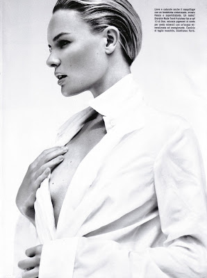 Kate Bosworth Barely Photoshoot for Vogue Italia photos