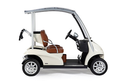 World's Most Exclusive Golf Cart photos
