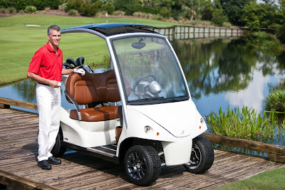 World's Most Exclusive Golf Cart letest pics