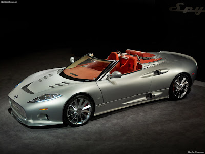 Spyker C8 Aileron Spyder new images