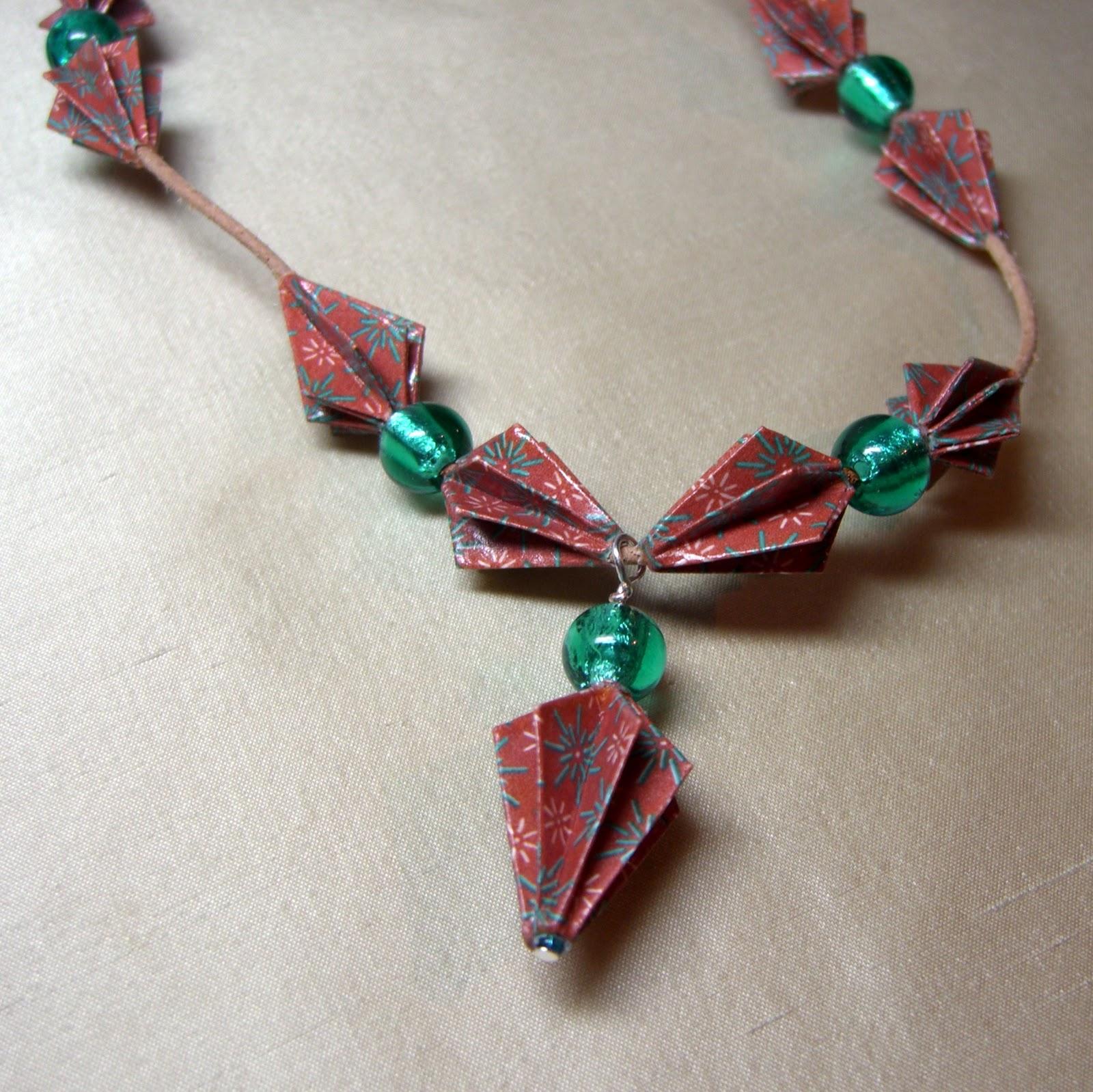 Kitty+Stitch: Origami Jewellery - photo#25