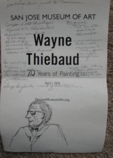 Art Adventures Artist Talk With Wayne Thiebaud San