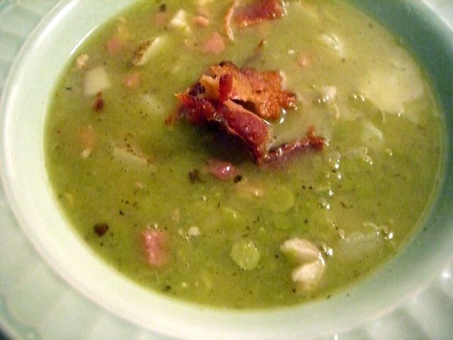 My go to recipe for split pea soup. Definitely hits the spot at Rae Gun Ramblings