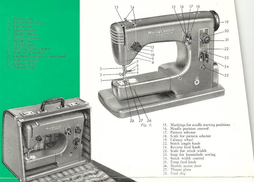 Survival Sewing Vintage Viking Husqvarna Automatic 21a