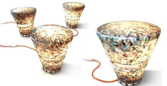 best interior design ideas: rodrigo alonso: recycled plastic