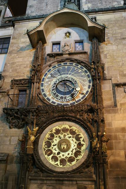 reloj astrológico Praga