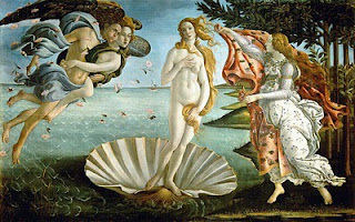Venus - Primavera by Sandro Botticelli