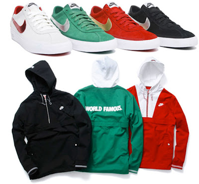 Nike Sb X Supreme Bruin And Twill