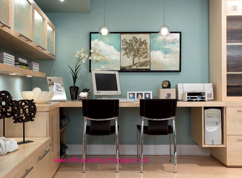 wall colors interiors painting offices design home on modern office paint schemes id=43645