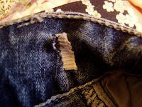 add hidden elastic to pants tutorial