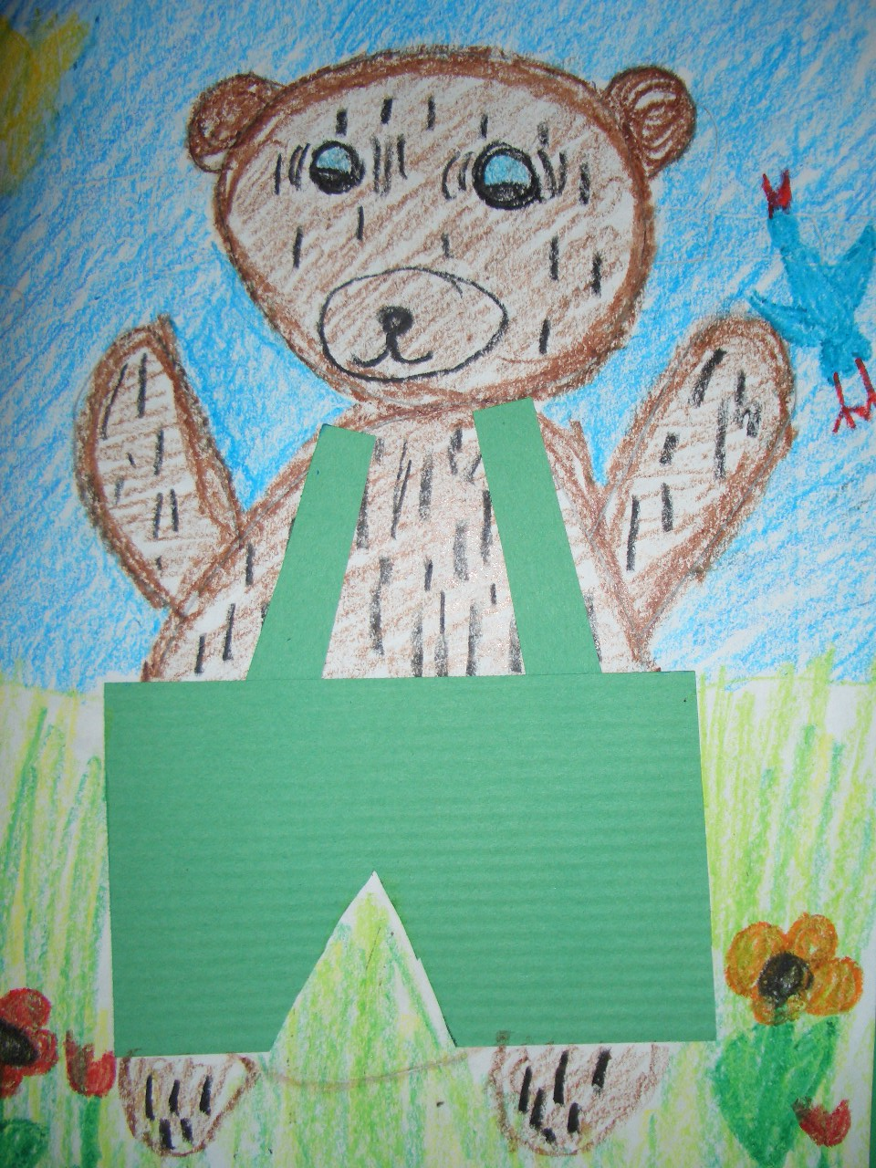 Kinder Garden: DREAM DRAW CREATE: Kindergarten Students Draw Corduroy Bear