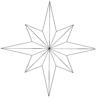 Hopemore: Eight point star template