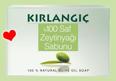 Kırlangıç zeytinyağlı sabun